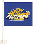 Southern University and A&M College Jaguars Car Flag