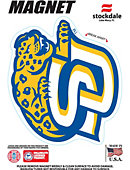 Southern University and A&M College Jaguars 4''x4'' Magnet