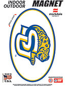 Southern University and A&M College Jaguars 3.5''x5.5'' Oval Magnet