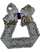 Southern University and A&M College Toddler Lace Headband with Bow