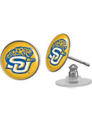 Southern University and A&M College Jaguars Domed Earrings