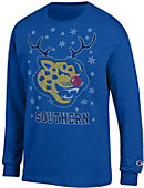 Southern University and A&M College Jaguars Ugly Sweater Long Sleeve T-Shirt