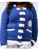 Southern University and A&M College Zeta Phi Beta Women's Cardigan Sweater