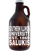 Southern Illinois University Salukis 64 oz. Growler