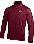 Southern Illinois University Double Dry 1/4 Zip Fleece Performance Pullover