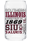 Southern Illinois University Soda Glass Can