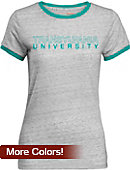Transylvania University Women's Athletic Fit Ringer Short Sleeve T-Shirt