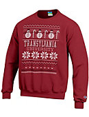 Transylvania University Ugly Sweater Crewneck Sweatshirt