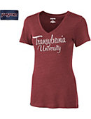 Transylvania University Women's V-Neck T-Shirt