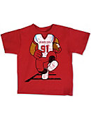 Delaware State University Football Player Toddler T-Shirt