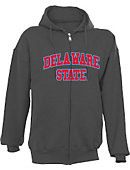 Delaware State University Full-Zip Hooded Sweatshirt