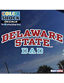Delaware State University Dad Decal