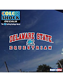 Delaware State University Equestrian Decal