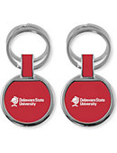 Delaware State University Double Ring Keychain