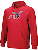 Nike Delaware State University Hornets Therma Fit Hooded Sweatshirt