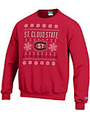 St. Cloud State University Ugly Sweater Crewneck Sweatshirt