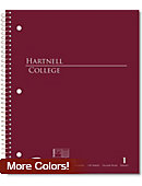 Hartnell Community College 100 Sheet Notebook