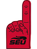 Southeastern University Foam Hand