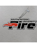 Southeastern University Fire 3'x4' Glass Ornament