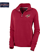 Southeastern University Women's 1/4 Zip Chelsea Fleece Pullover
