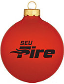 Southeastern University Fire Ornament Ball