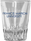 Francis Marion University 2 oz. Collector Shot Glass