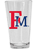 Francis Marion University 16 oz. Drink Glass