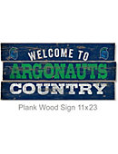 University of West Florida Argonauts 22''x11'' Wood Sign