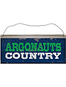 University of West Florida Argonauts Country Tin Sign