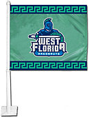 University of West Florida Argonauts Car Flag