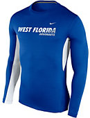 Nike University of West Florida Argonauts Vapor Long Sleeve T-Shirt