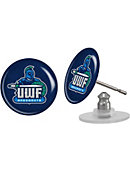 University of West Florida Argonauts Domed Earrings 3-Count