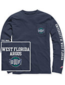 University of West Florida Long Sleeve Pocket T-Shirt