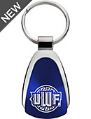 University of West Florida Teardrop Keychain