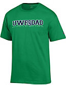 University of West Florida Argonauts Dad T-Shirt
