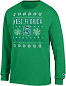 University of West Florida Ugly Sweater Long Sleeve T-Shirt