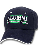 University of West Florida Stretch Adjustable Alumni Cap