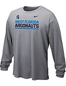 Nike University of West Florida Argonauts Dri-Fit Long Sleeve T-Shirt