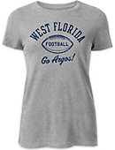 University of West Florida Argonauts Football Women's Freshy T-Shirt
