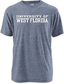 University of West Florida Twisted Tri-Blend T-Shirt