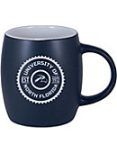 University of North Florida 12 oz. Black Out Robusto Mug