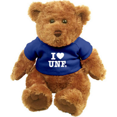 Product: 'I Heart UNF' Plush Bear