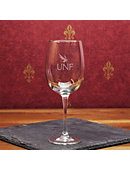 University of North Florida 16 oz. Wine Glass