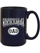 University of North Florida Dad 15 oz. Mug