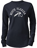University of North Florida Women's Sarah Waffle Long Sleeve T-Shirt