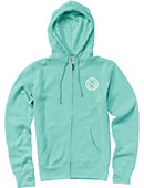 University of North Florida Women's Full Zip Hooded Sweatshirt