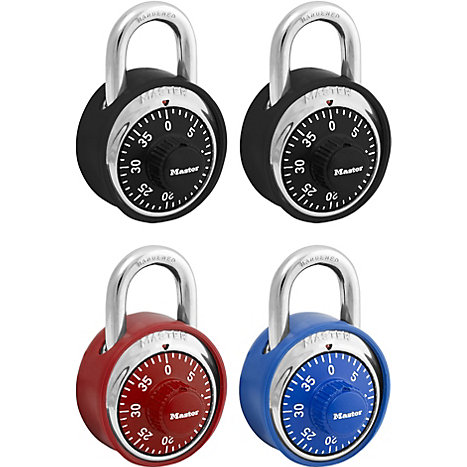 Product: LOCK COMBO W/COVER ASST COLOR