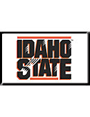 Idaho State University Bengals 2.2''x3.6'' Dome Magnet