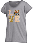 Idaho State University Bengals Girls' Powder Puff Love T-Shirt
