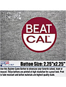 Stanford University Beat 'Opponent' 2.25' Button